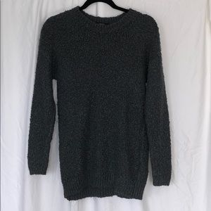 Forever 21 Gray Cozy Knit Sweater